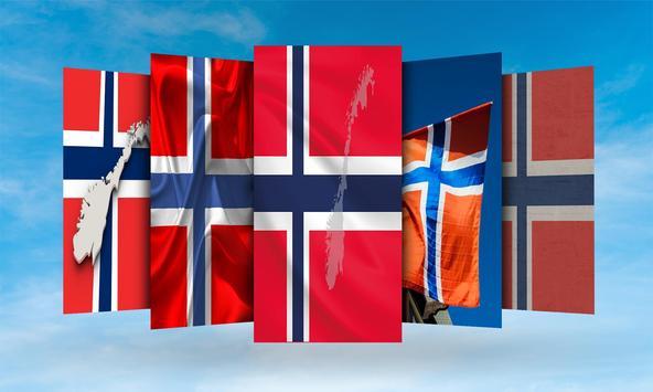 Norway Flag Wallpaper screenshot 1