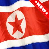 North Korea Flag Wallpaper icon