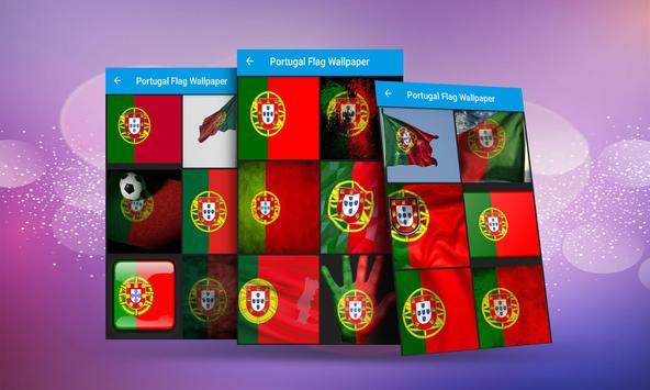 Portugal Flag Wallpaper poster
