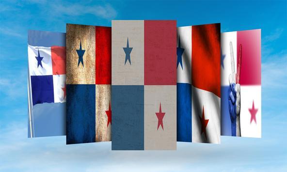 Panama Flag Wallpaper screenshot 1