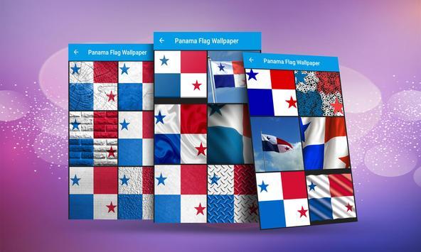 Panama Flag Wallpaper screenshot 2