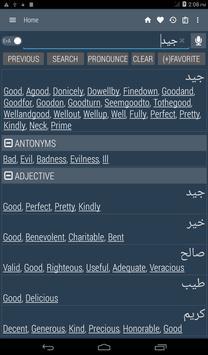 English Arabic Dictionary screenshot 9