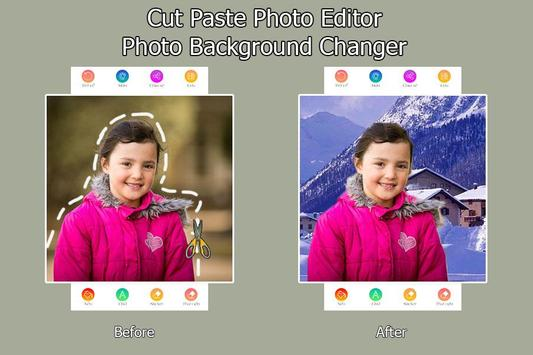 Cut Paste Photo Editor - Photo Background Changer screenshot 1