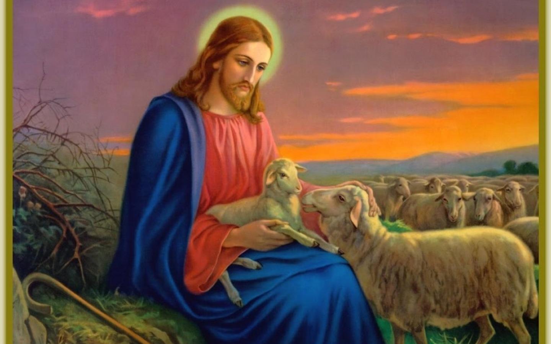 Картинка иисуса животные
