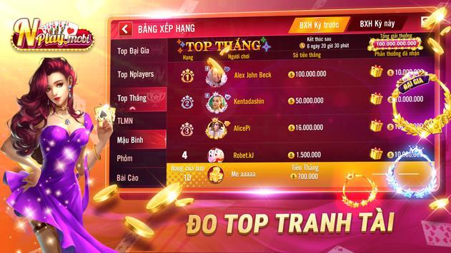NPLAY: Game Bài Online, Tiến Lên, Mậu Binh, Xì Tố screenshot 3