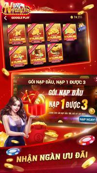 NPLAY: Game Bài Online, Tiến Lên MN, Binh, Poker.. screenshot 4