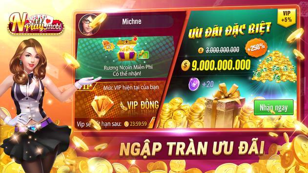 NPLAY: Game Bài Online, Tiến Lên, Mậu Binh, Xì Tố screenshot 4