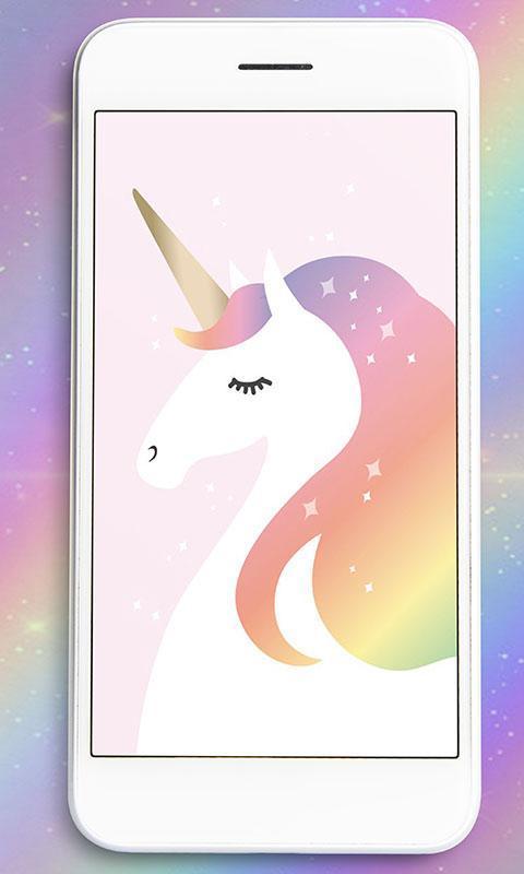 قوس قزح رسم خلفيات Unicorn