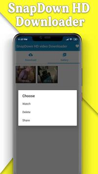 Snapvid HD Downloader - All HD video downloader स्क्रीनशॉट 2