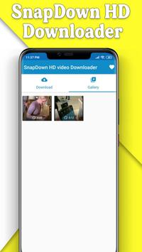 Snapvid HD Downloader - All HD video downloader स्क्रीनशॉट 4