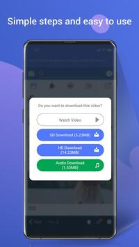 Video Downloader - Video Manager for facebook screenshot 5