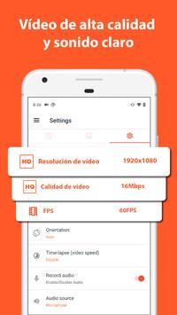 AZ Screen Recorder captura de pantalla 3