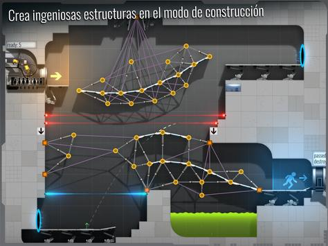 Bridge Constructor Portal captura de pantalla 8