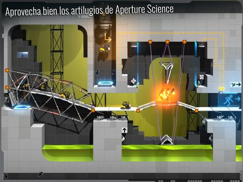 Bridge Constructor Portal captura de pantalla 9
