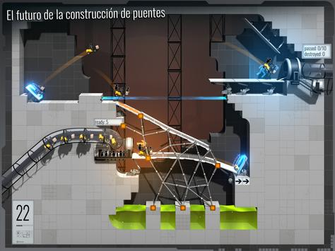 Bridge Constructor Portal captura de pantalla 11