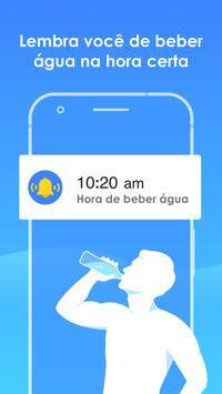 Beber Água - Lembrete de beber água com alarme Cartaz
