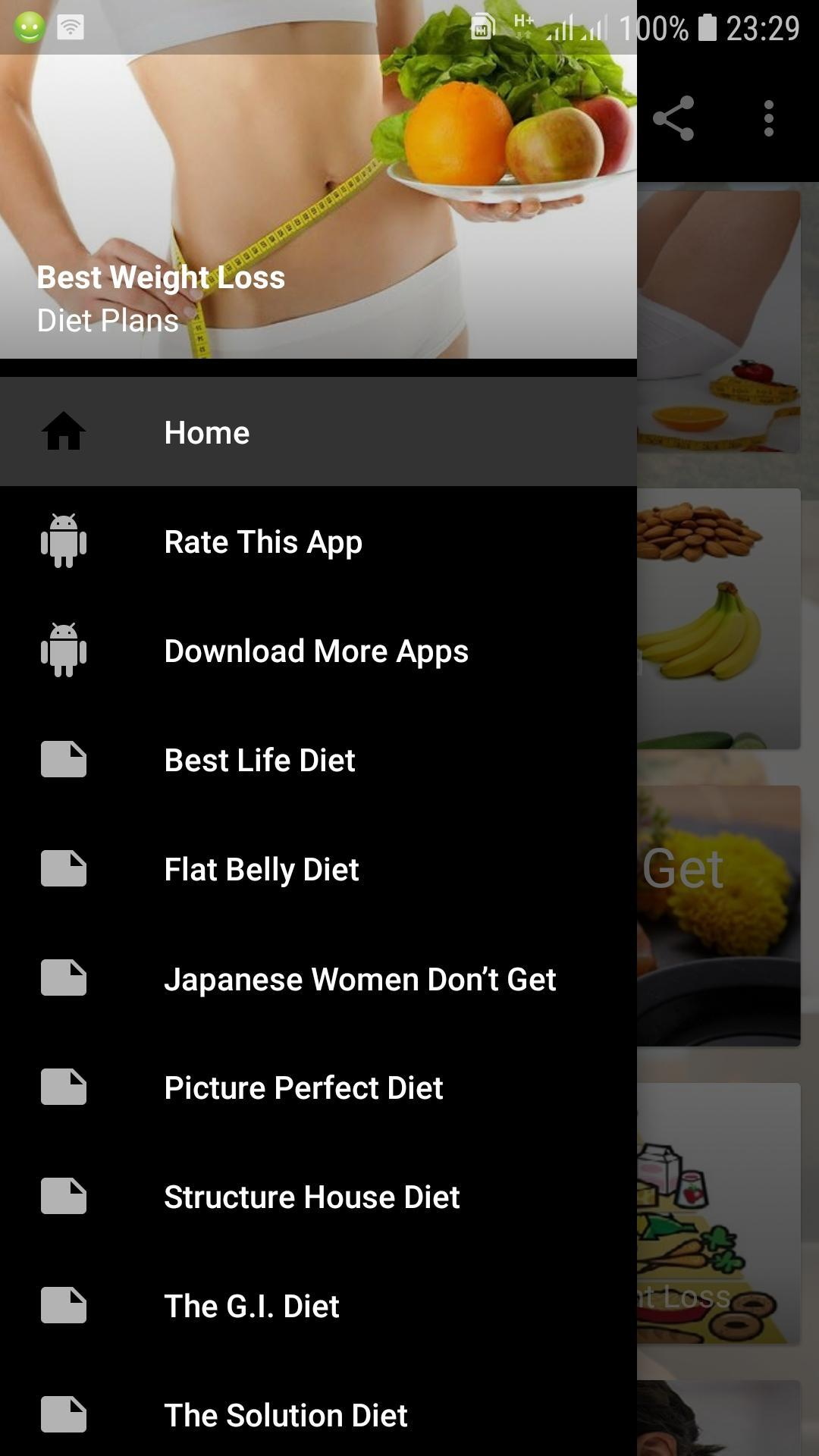 10 Best Weight Loss Diet Plans For Android Apk Download
