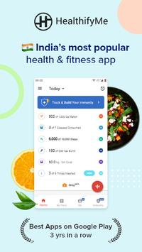 Calorie Counter, Diet Plan, Dietitians, Trainers постер