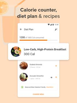 Calorie Counter, Diet Plan, Dietitians, Trainers скриншот 2