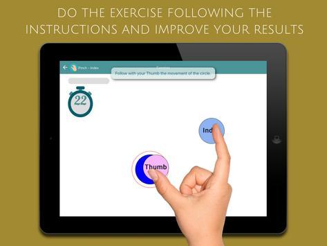 ReHand, Hand Rehabilitation App on the Tablet screenshot 14