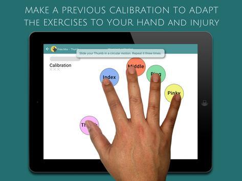 ReHand, Hand Rehabilitation App on the Tablet screenshot 1