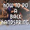 How To Do A Back Handspring simgesi