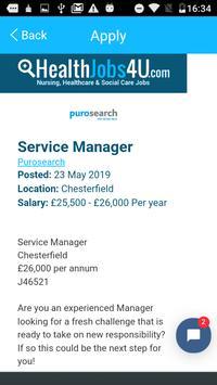 Healthjobs4U Job Search screenshot 3