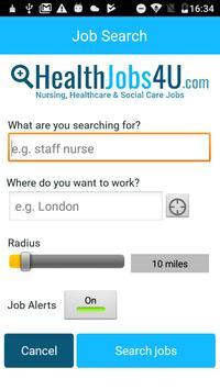 Healthjobs4U Job Search poster