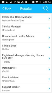 Healthjobs4U Job Search screenshot 1