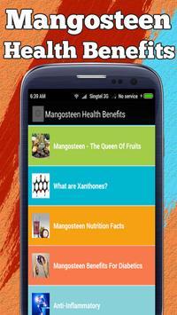 Mangosteen Health Benefits screenshot 1