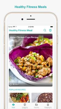 Healthy Fitness Meals poster