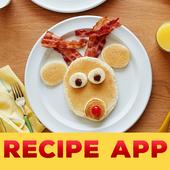 Healthy Kids Recipes (Offline) icon