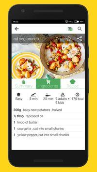 Healthy Kids Recipes (Offline) screenshot 3