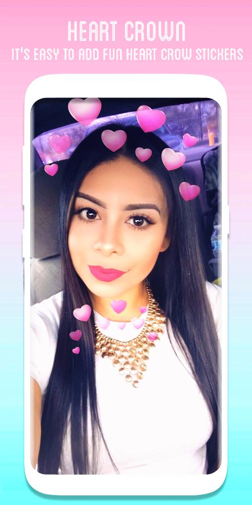 Heart Crown Face Camera for Android - APK Download