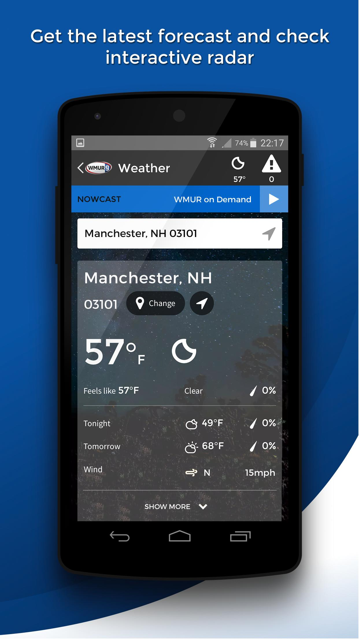 WMUR for Android - APK Download
