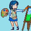 ikon Pixel Art paint Pro