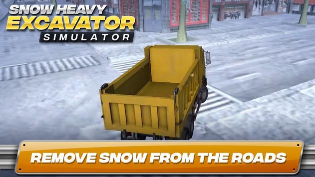 snow heavy excavator simulator mod apk