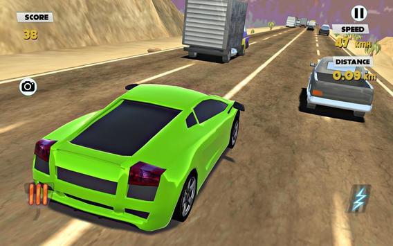 Heavy Traffic car Extreme racing screenshot 7