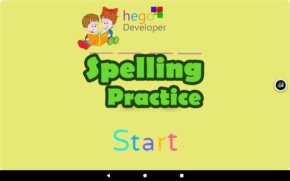 Kids Spelling Practice poster
