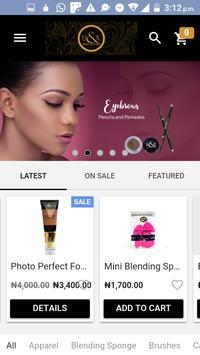 H&E - Nigeria Beauty Supply Store poster