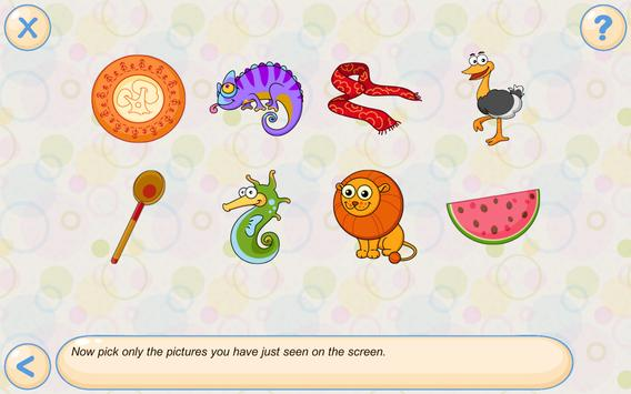 Memory & Attention Training for Kids تصوير الشاشة 17