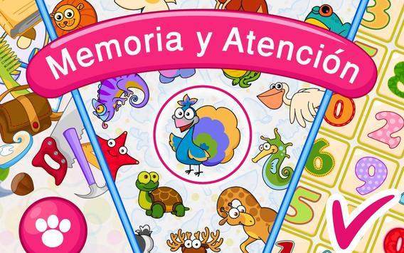 Memoria: para niños 4-7 gratis captura de pantalla 16