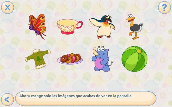 Memoria: para niños 4-7 gratis captura de pantalla 1