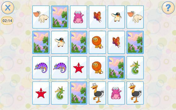Mémoire pour enfants Gratuit capture d'écran 7