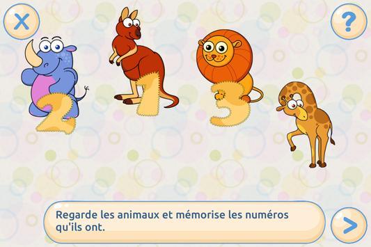Mémoire pour enfants Gratuit capture d'écran 2