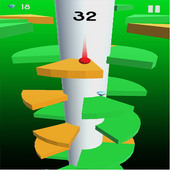 Helix Crush Spiral - ball games for kids icon