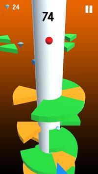 Helix Crush Spiral - ball games for kids screenshot 3