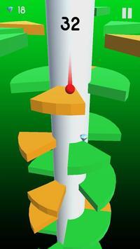 Helix Crush Spiral - ball games for kids screenshot 2