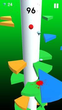 Helix Crush Spiral - ball games for kids screenshot 4