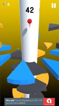 Helix spiral jump tower fall screenshot 1